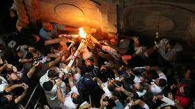 Holy Fire descends in the Church of the Holy Sepulchre in Jerusalem (VIDEO)
