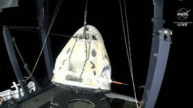 SpaceX Crew Dragon brings four astronauts from ISS, making first nighttime splashdown since 1968