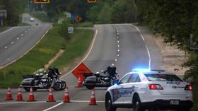FBI agents SHOOT 'armed intruder' after hours-long standoff at CIA entrance gate