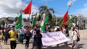 Le gouvernement anti-coup d'État du Myanmar met en place la «Force de défense du peuple» pour protéger les civils de l'armée