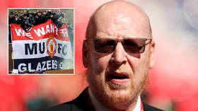 'Not a penny more': Man United fans target club's commercial sponsors as club owner Avram Glazer 'refuses to apologize' (VIDEO)