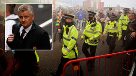 'It was a difficult day': Man United boss Solksjaer backs fan protest but says violence against police is 'one step too far'
