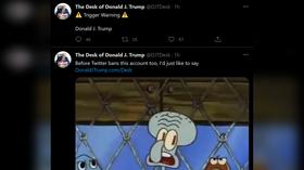 Twitter BANS 'Trump Desk' account after Democrats demand censorship