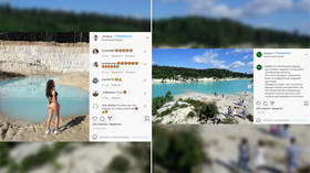 Bali of the Urals: Russian influencers flood to toxic lake near site of nuclear disaster for pics as Covid-19 halts travel abroad