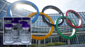 Tokyo Olympics athletes asked to 'lead by example' by taking Covid-19 vaccine after IOC accepts offer from 'proud' Pfizer bosses