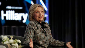 Hillary wants a 'global reckoning' with social media 'disinformation' as apparently just banning conservatives isn't enough
