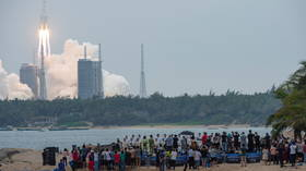 Risk of rocket debris causing any harm 'extremely low', China says, as US warns remnants could hit Earth