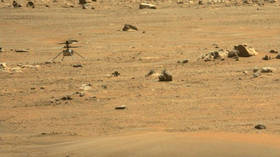 NASA's Mars helicopter makes first one-way flight to 'new home' on Martian surface