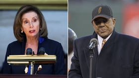 Pelosi skewered for posting photo of WRONG black athlete in bungled Willie Mays birthday message