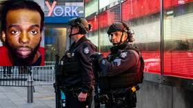 New York police ID suspect in Times Square shooting, say he meant to shoot his brother when 4yo girl & two women were hit