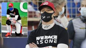 'You can't choose what to kneel for': Russian F1 driver Mazepin takes knee to honor WWII victims, gets accused of swipe at BLM