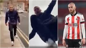 Football star & avid MMA fan Oli McBurnie 'filmed punching & kicking man while destroying his phone'