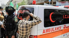 Gaza health ministry says 9 Palestinians killed in Israeli air strikes, including 3 kids, multiple injured