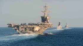 US Coast Guard fires 30 warning shots at 'unsafe & unprofessional' Iranian military ships during flotilla encounter – Pentagon