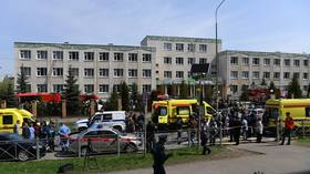 WATCH: Moment 19-year-old Russian Ilnaz Galyaviev entered high school in Kazan before bloody rampage that killed at least nine