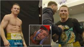 WATCH: Behind scenes footage shows playful Canelo posing and boasting of 'easy money' after hospitalizing Billy Joe Saunders