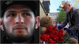 Khabib mourns Kazan school shooting victims as former UFC champ posts message of condolence