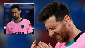 Have Barcelona blown it? Lionel Messi scores but Sergio Busquets admits title hopes are 'practically over' after squandering lead