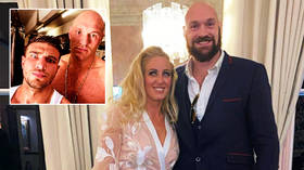 'I have been married 13 years': Fury lashes out after report that boxing giant was 'oiled up' by girls in Miami with TV star Tommy