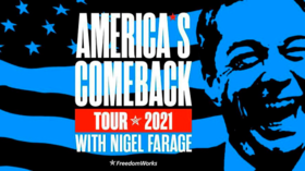 Nigel Farage's 'America's Comeback' tour reveals consummate showman, but his message resonates with Republican grassroots