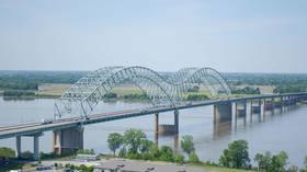 Bridge over Mississippi river closed for repairs after inspectors discover MAJOR CRACK, river transport grinds to a halt
