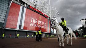 Manchester United fortify Old Trafford with 10ft 'Ring of Steel' to prevent demonstrations ahead of rescheduled Liverpool fixture