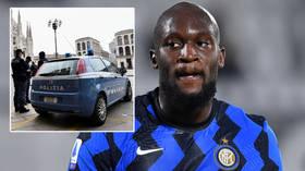 Bad Luk: Inter Milan star Romelu Lukaku FINED as police raid birthday party over breach of Covid-19 guidelines