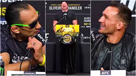 'You got Dana White privilege': MMA legend Ferguson hits out at Chandler and Khabib in bizarre UFC 262 press conference (VIDEO)