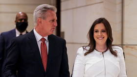 Republicans replace Trump critic Liz Cheney with ex-president's supporter Elise Stefanik as party's conference chair
