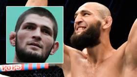 'Be careful': Khabib Nurmagomedov's cousin Abubakar warns Chimaev after Chechen-born UFC star promises to 'tear apart' ex-champ