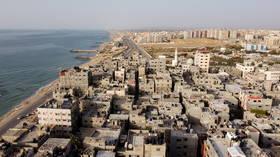 SIX children & 2 women killed in Israeli airstrike on crowded Gaza refugee camp – reports
