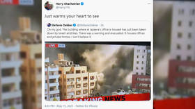 'Warms your heart to see': American conservatives celebrate Israeli bombing of AP & Al Jazeera offices
