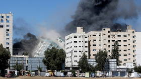 UN chief 'deeply disturbed' by civilian casualties & IDF bombing of Gaza media building, dubbed 'TERROR TOWER' by Netanyahu