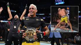 Comeback king Oliveira crowned lightweight champion after stopping Chandler in incredible reversal at UFC 262 (VIDEO)