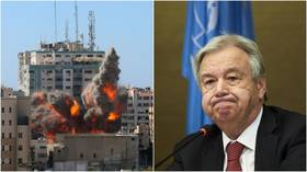 'Fighting must stop': UN chief calls for immediate end to Israeli-Palestinian violence, warns of 'uncontainable' crisis