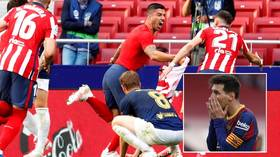 'Worst deal ever': Fans rub salt in Barca wounds as discarded Suarez edges Atletico to title & Messi sees La Liga hopes die