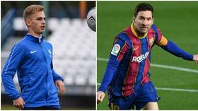 Russian boy wonder Pinyaev shares 'call with Messi' as he responds to rumors of Barcelona move (VIDEO)