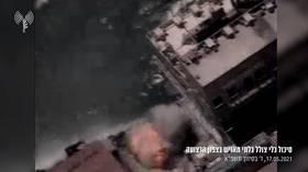 Israeli military says it destroyed Hamas' unmanned submarine, thwarting 'terrorist activity in Israeli waters' (VIDEO)