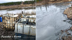 Russia begins complex clean-up operation after huge 100-ton oil spill in remote Far North as authorities initiate criminal case