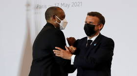 France and other nations to cancel Sudan's $5 billion IMF debt, with decision to be approved in June, Macron says
