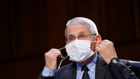 'Didn't want to look like I was giving mixed signals,' says vaccinated Fauci as he gives yet ANOTHER explanation for masking up