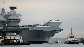 Deployment of UK's flagship aircraft carrier to South China Sea shows Britain's 'belief in international law of the ocean' – PM