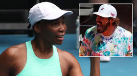 Forty love? Fans play detectives as tennis icon Venus Williams is rumored to be dating 6ft 11in player who is 17 years her junior
