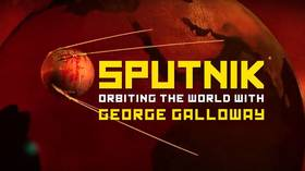 Sputnik Orbiting the World