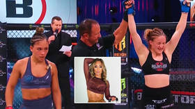 'You will lose': MMA temptress Loureda's corner told her to 'stop stupid sh*t' on way to brutal first professional defeat (VIDEO)