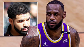 NBA accused of hypocrisy after LeBron James 'escapes ban' despite violating Covid rules at tequila brand bash with rapper Drake