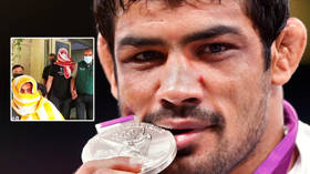 Two-time Olympic medalist wrestler arrested in India after evading police over alleged killing of fellow grappler at stadium
