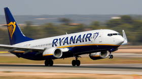 'Bomb scare' forces Ryanair jet to make emergency landing in Belarus, authorities detain wanted editor of banned Telegram channel