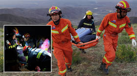 'Ultra running's biggest tragedy': 21 people perish during 62-mile marathon in China as horror weather 'freezes victims to death'