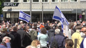 'No to hatred against Jews': More than 1,000 rally against anti-Semitism in Nuremberg, Germany (VIDEO)